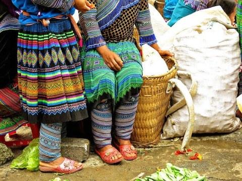 Meet the Hmong Tribes at Bac Ha Market Vietnam