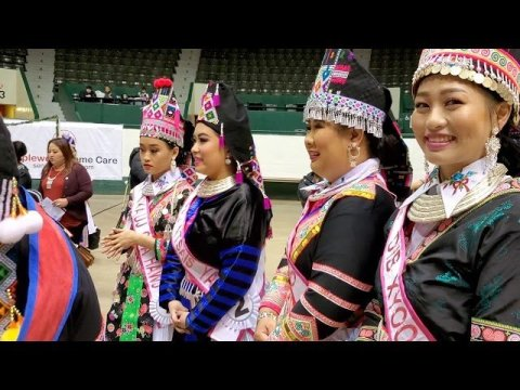 Hmong Americans New Year in MN 2020.