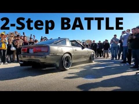 2-STEP BATTLE, GTR vs SUPRA ?!? Hmong Pre-New Year 2019-2020