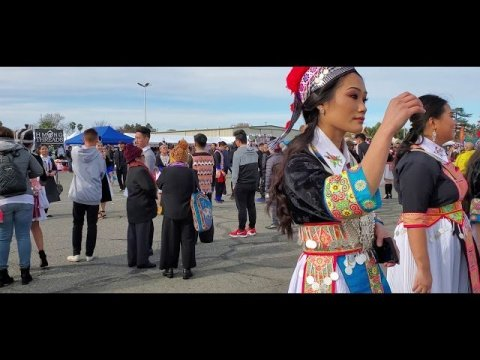Fresno Hmong New Year 2019-2020 first day