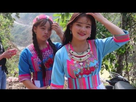 Gái Bản Ở Đây Xinh Quá - Nkauj Hmoob zoo nkauj - Gặp EM HOA Nàng Tiên Xinh Đẹp Của Tây Bắc Đi Chợ