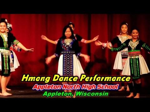 Hmong Dance Performance @Appleton North High School, Appleton, WI (1-29-20)