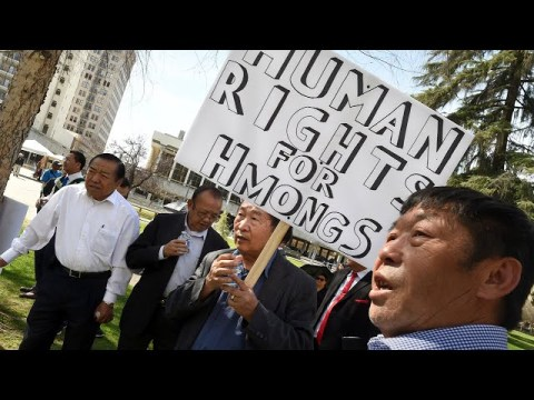 Hmong community members protest announced Trump administration deportation policies