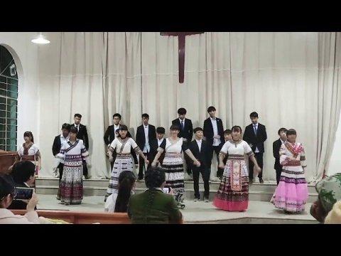 hmoob music苗族阿卯培训班学生 Hmong a-hmao Christian Paj Huam Qhuas Hmoob Kab Yeeb