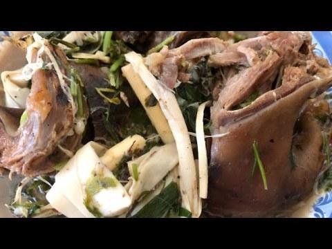 Episode 12 Hmong Cooking - Ua O' Laam Nas Xyaw Plawv Kav Theej Noj Qab Tiag2