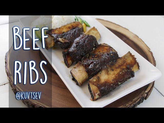 Hmong Food Beef Ribs by Kuv Tsev