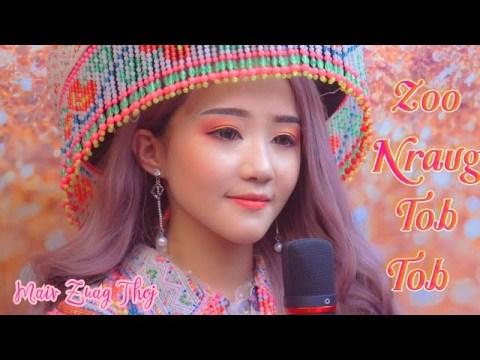 Zoo Nraug Tob Tob - Maiv Zuag Thoj ( Cover ) | hmong Music .