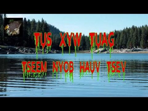 Tus Xyw Tuag Tseem Nyob Huav Tsev (Hmong Scary Story)