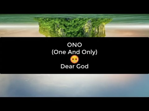 Hmong ONO (One And Only) – Dear God Music With Lyrics