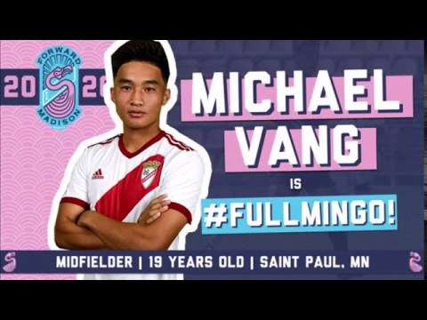 Michael Vang First Hmong Soccer Pro Player in U.S.