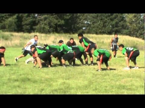 Hmong Flag Football D.O.D. vs Demons Washington County 2010 Part 1