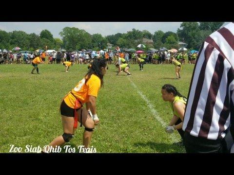 Women fleet football at Hmong july4