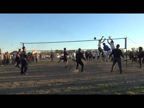 Hmong Volleyball Cal Expo New Year 2015 Rise vs Supernatural