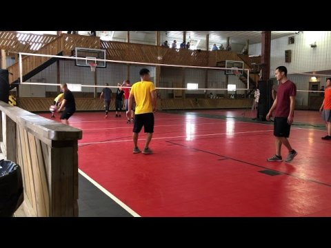 Hmong volleyball quads tournament