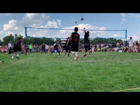 J4 2019 Men's Hmong Volleyball Tournament - Cali v Titan (Set 1)