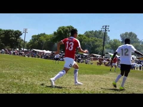 Hmong fc vs Typhoon fc hmong Minnesota Soccer Tournament July 2016