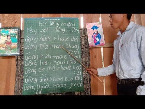 học tiếng hmong.uống nước uống cà phê gọi thế nào