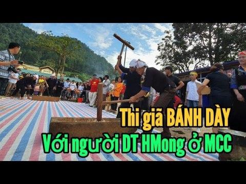 0004 - Xem giã bánh dày của người Hmong ởMuf Cang Chải