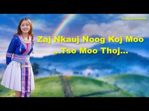 Tso Moo Thoj - Zaj Nkauj Noog Koj Moo - Hmong New Song