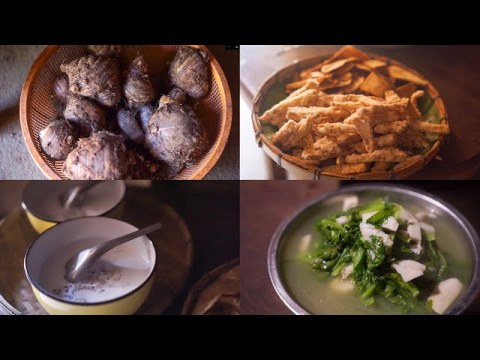 Taro recipe - How Hmong people eat taro? Here are some menu let's cook together