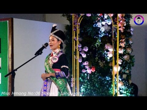 #Misshmongcontestshow2021***     Miss Hmong HM 06 Speak 3 Languages on her Contest Show 2021