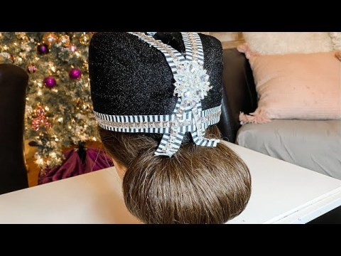Hmong Hat Low Bun