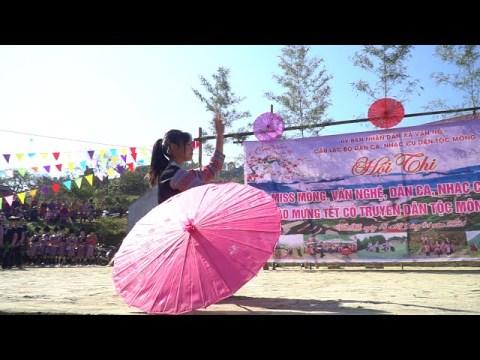 Múa Tiếng Rừng SBD04: Đội Tuổi trẻ Chiềng Đi 1, trong Hội thi Tết cổ truyền dân tộc Mông Vân Hồ 2021