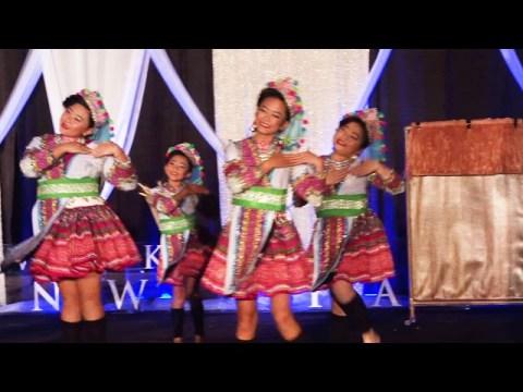 Ntxhais Kawm Txuj dance competition 2019-20 at Milwaukee Hmong new year.