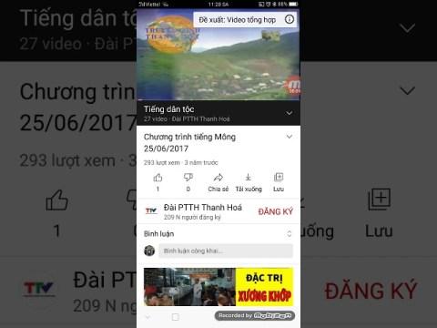 TTV Thanh Hóa - Hình hiệu Thời sự tiếng Mông (from 2016 - 2017)
