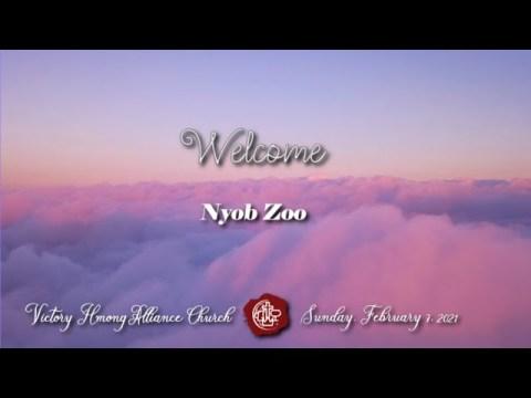 VHAC Sunday Service February 7, 2021 - Cia Txojlus Hloov Koj (Let the word Change you)