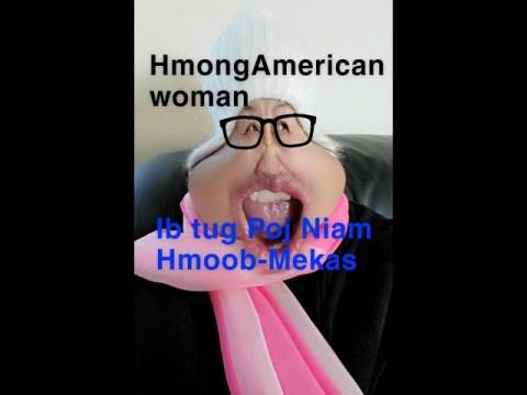 Hmong-American Woman #4/Poj Niam Hmoob-Mekas #4