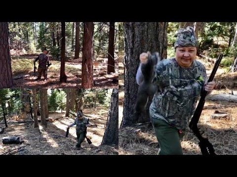 Episode 26 Hmong Hunting - Squirrel Hunting/Tua Nas Ncuav Caij Los Snow