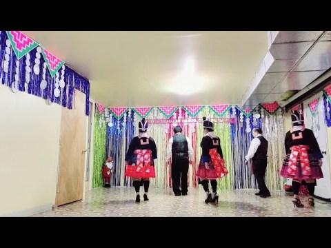 line dance up town funky Choua Elsa's ways ( Hmong PA NkaujAAb NraugOO couple)