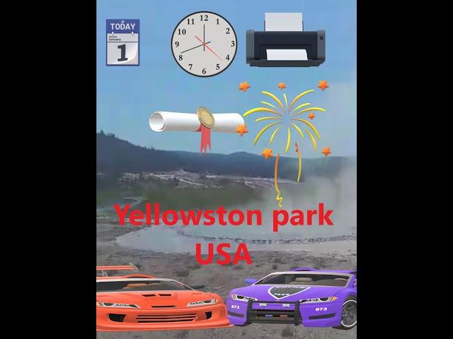 Hmong USA Post: (Yellowstone park and bad land 2020)