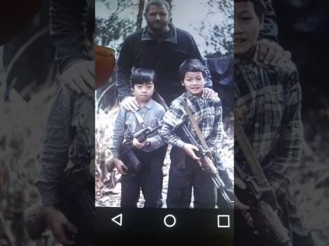 Children of Hmong Choa fa Xay soun boun