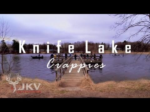 Knife Lake Crappie Fishing | Mora, MN | Hmong Fishing Nuv Ntses Crappie | JKV Outdoors