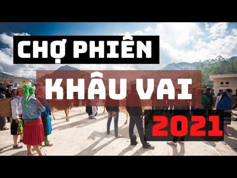 Phiên chợ vùng cao trước ngày chợ tình Khâu Vai 2021 | HMong Weekly Market In Vietnam