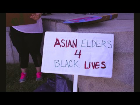 """Hmong Culture Camp Youth at the """"TheyCantBurnUsALL"""" Rally in SF, CA"""