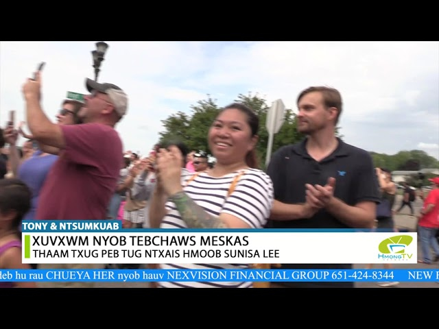 XUVXWM NYOB MESKAS TEBCHAWS-HMONG AMERICAN'S NEWS