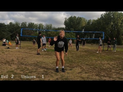 Evil vs Unicorn Game 2 Cheng Picnic 2021   Coed Hmong Volleyball Tournament