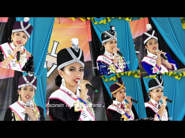 Miss Hmong Wisconsin Teen  2020  (Question Rd )