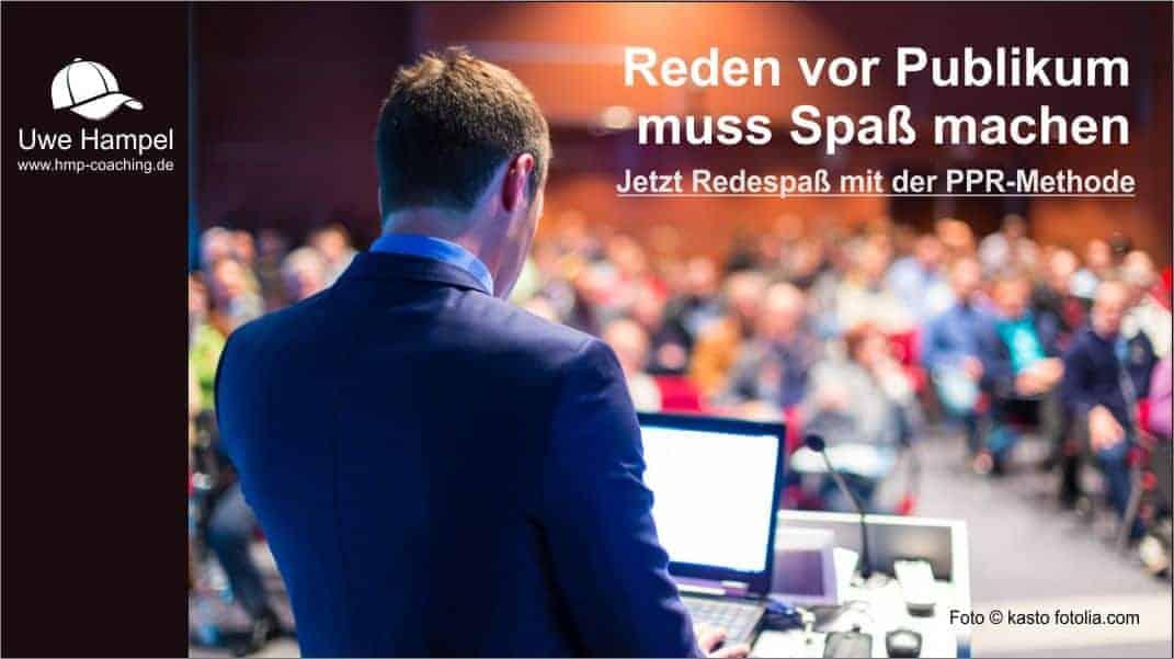 Reden vor Publikum