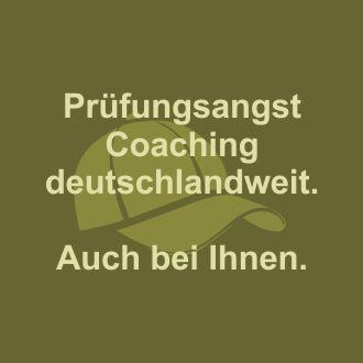 Prüfungsangst Coaching biete ich deutschlandweit an. Auch bei Ihnen.