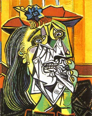 Picasso abstract painting