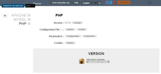 EasyPHPNewVersion