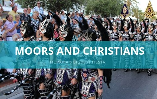 Moors and Christians Festival in Moraira