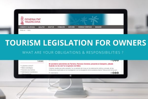Tourism Legislation for Holiday rentals in Valencia