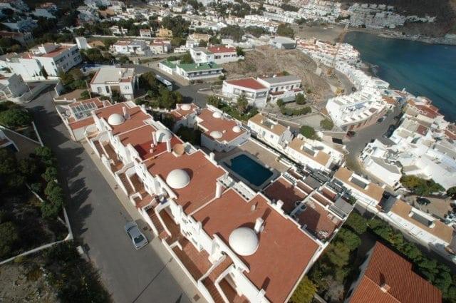 Vista aerea de la urbanización