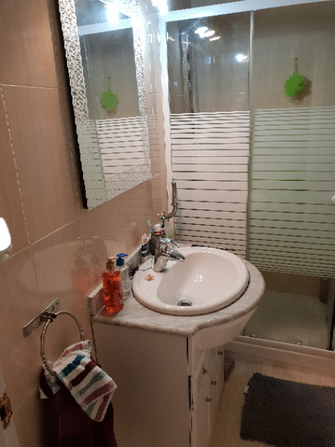 Baño con plato ducha