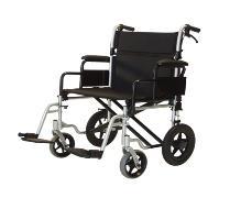 bariatric transport chair 500 lbs menards patio glides wheel chairs 24 400 lb cap